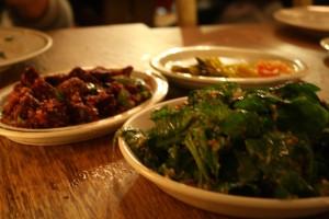 delicious beets & spinach