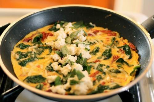 omelet-in-pan-ricotta1