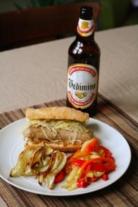 sausage & beer