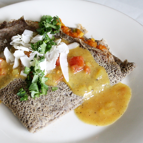 dosa plated 3