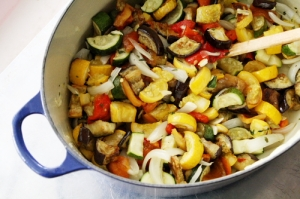 ratatouille in pot