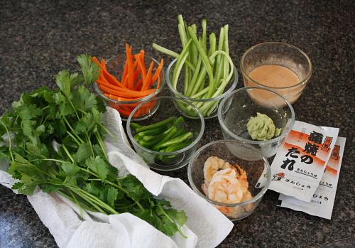 sushi prep