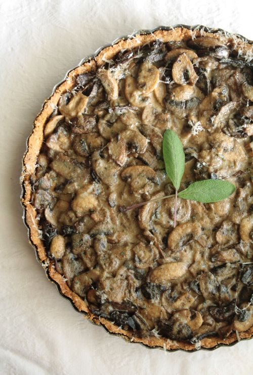 mushroom tart for a bordeaux wine tasting | simmer down! (a food lover ...