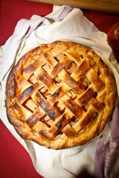 apple pie for book signing