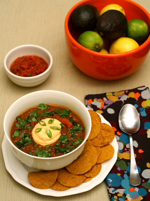 pumpkin and venison chili