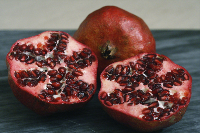 pomegranates for a hearth healthy salad