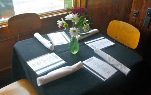 schnack window table menus